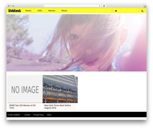 SSMAG WordPress template - giddiest.com