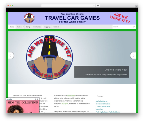 Free WordPress Miniclip Games Arcade plugin - travelcargames.com
