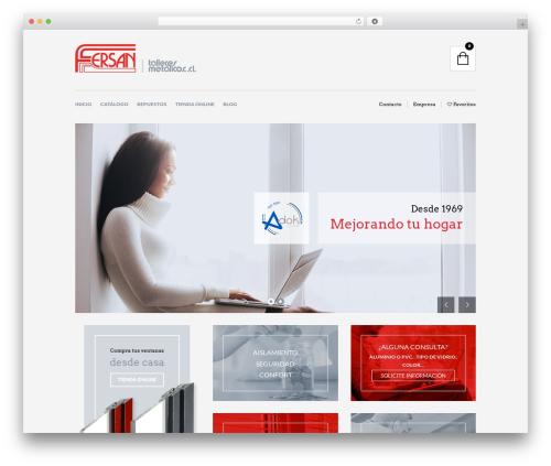 The Retailer WordPress theme - ventanasfersan.com