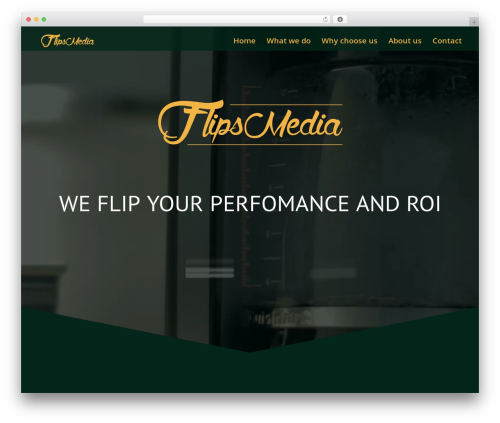 The7 WordPress theme - flipsmedia.com