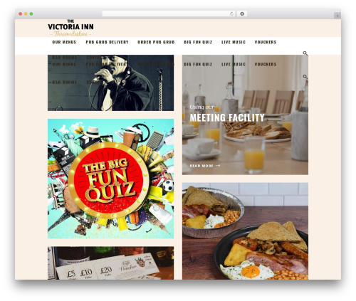 Theme WordPress Barista - thevicinn.com