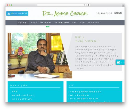 Theme WordPress Symbol - drashishchokshi.com