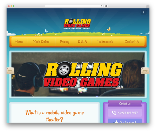 Toddlers WordPress page template - rollingvideogamesny.com