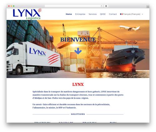 Twenty Sixteen WordPress page template - lynx-ci.com