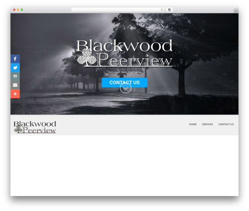 WordPress theme BWPV/SKT White Child Theme - blackwoodpeerview.com