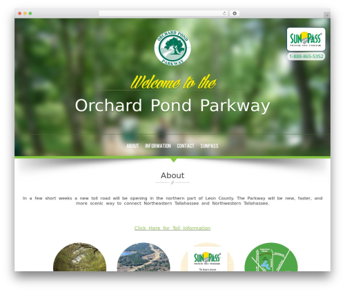 WordPress theme NatureWPThemes - orchardpondparkway.com