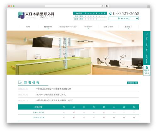 WordPress theme Original Style - 1column - seikei-tegeka.com