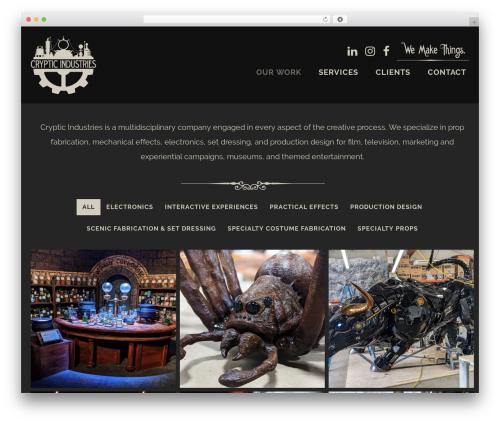 WP theme Helium - crypticindustries.com
