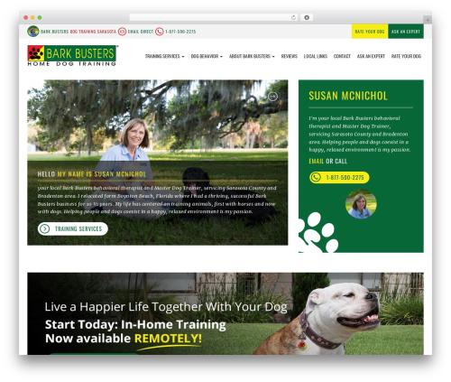 bigdogbroadcast2 WP theme - dogtraining-sarasota.com