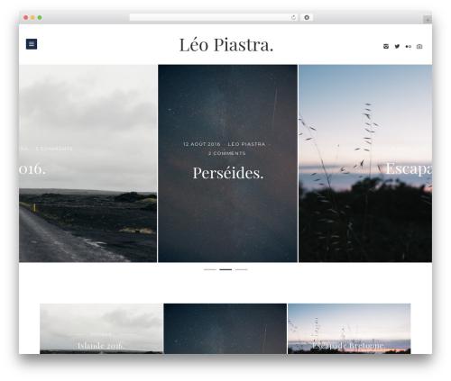 Brook WordPress theme - leopiastra.com