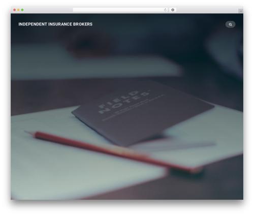 Businessx WordPress theme design - independentinsurancebrokersllc.com