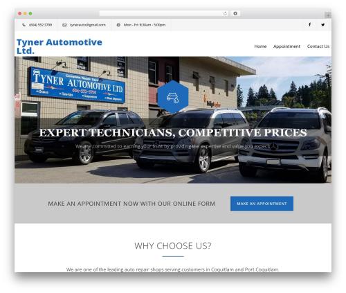 Carservice car rental WordPress theme - tynerautomotive.com