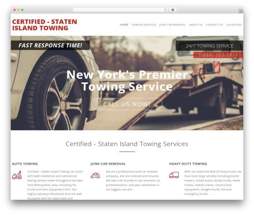 Carservice theme WordPress - certifiedtowingusa.com