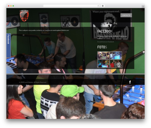 Clubber [Shared By http://www.themes24x7.com/] WP theme - leonfutbolin.com