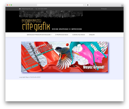 Gon WP theme - citegrafix.com