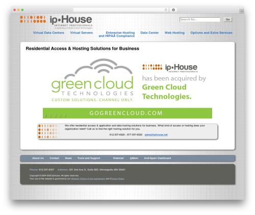 ipHouse Olympus WordPress theme design - phelpsdesignconsulting.com