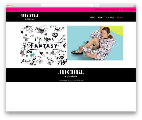 Striking MultiFlex & Ecommerce Responsive WordPress Theme WordPress theme - mcmalondon.com