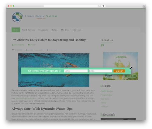 Free WordPress BMI Calculator Plugin plugin - congresoeimus.com