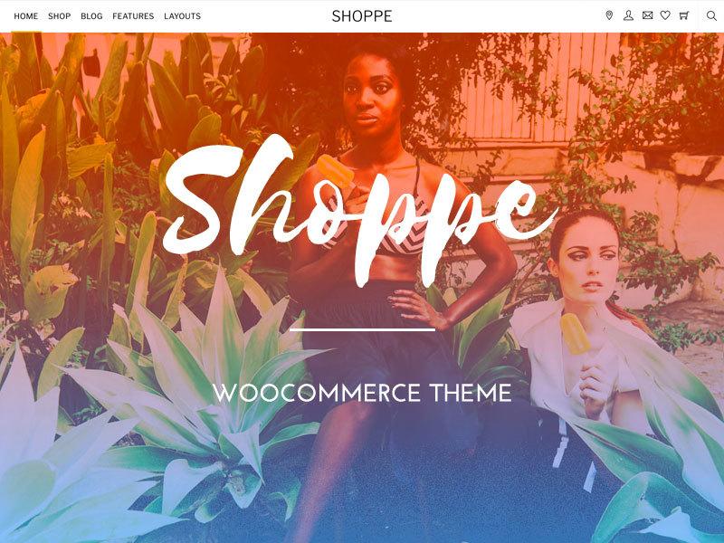 Themify Shoppe Child WordPress store theme