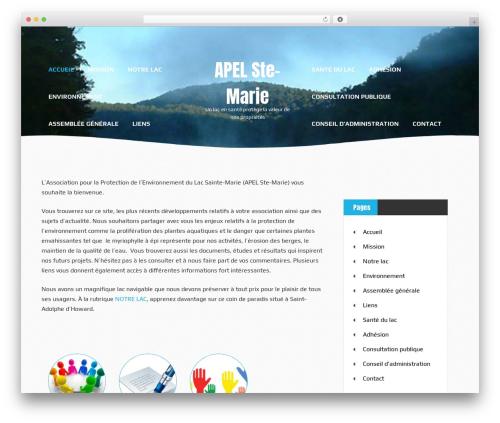 Waves WordPress free download - apelstemarie.com