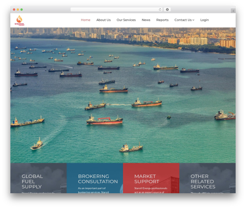 WordPress template GoCargo - staroilenergy.com