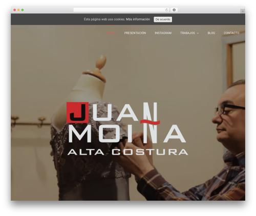WordPress theme Avada - xn--juanmoia-j3a.com