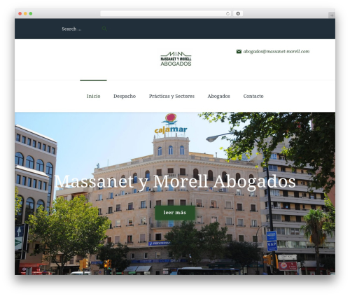 WordPress theme Fenimore - massanet-morell.com