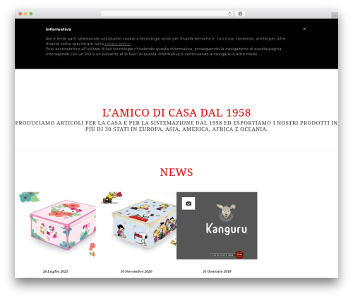 WordPress theme Lavatelli - lavatelli.com