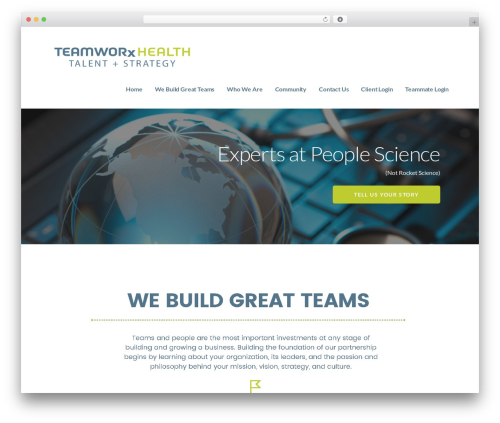 Ascension WordPress theme - teamworxhealth.com