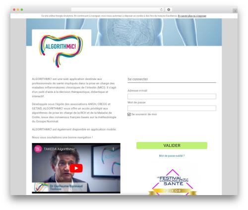 Avada WordPress theme - algorithmici.com