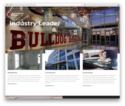 BuildPro WP theme - amglass.com