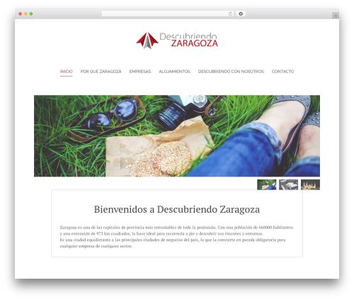 Chester template WordPress - descubriendozaragoza.com