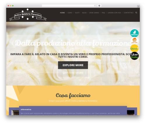 Cream WP theme - gelateriafiorentina.com