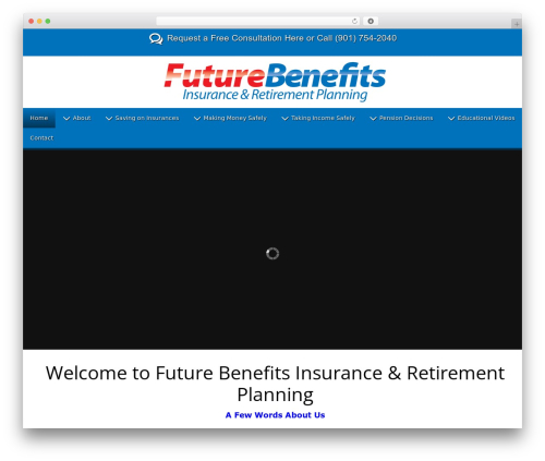 handyman theme WordPress - futurebenefitsinsurance.com