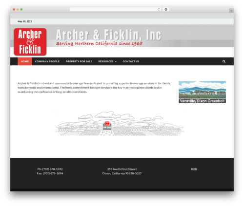 HitMag Pro WordPress theme - archerficklin.com