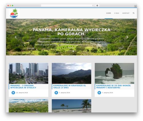 Morfeu WordPress template free - newhorizonspanama.com