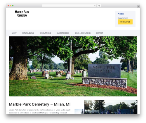 Offshore WP template - marbleparkcemetery.com