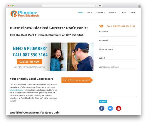 Poseidon theme WordPress free - plumberportelizabeth.com