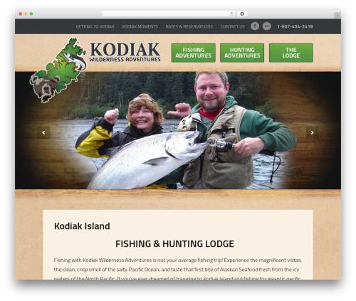 Theme WordPress Sundog CORE - kodiakwilderness.com