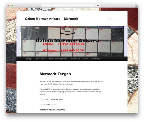 Twenty Eleven free WP theme - ankaramutfaktezgah.com
