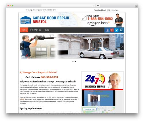 Twenty Thirteen WordPress theme - ajgaragerepair.com