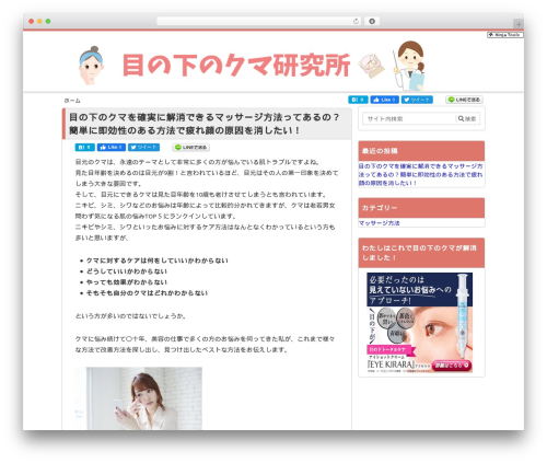 メシオプレス02 ver2 WordPress template - kireiinfo.com