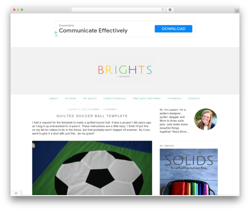 Best WordPress theme Brunch Pro Theme - brightsonwhite.com