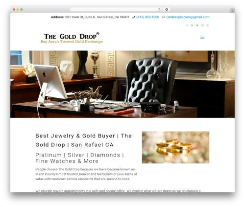 Betheme WordPress theme - maringolddrop.com