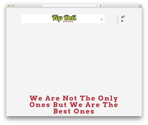 Betheme WP template - topdelinj.com