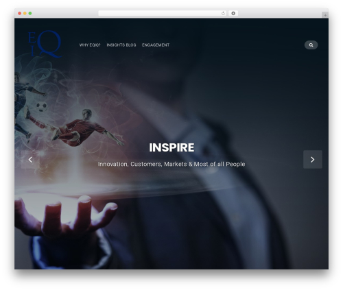 Businessx best WordPress template - eqiqpartners.com