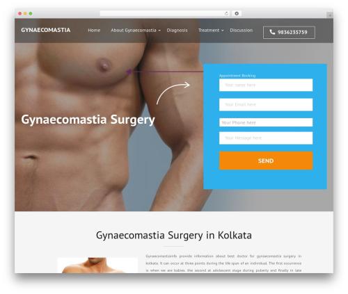Construction Landing Page free WordPress theme - gynaecomastiainfo.com