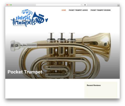 Insight WP theme - musicandtrumpets.com