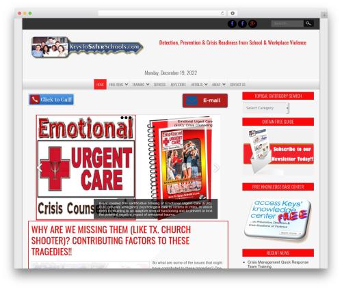 NewsPress Extend best WordPress theme - keystosaferschools.com