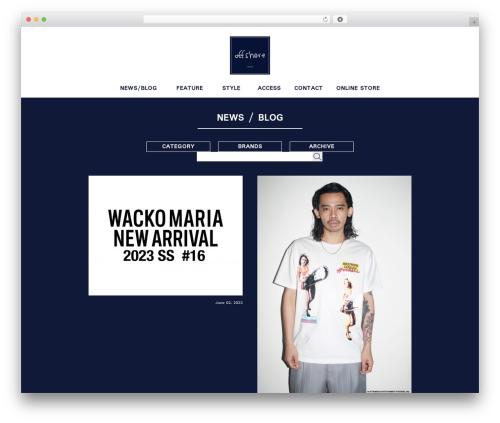 Theme WordPress Offshore - offshore-tokyo.com